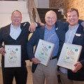 L-R: Andries Louw of Milotek, Andre Reyneke of Ducere Holdings, and Paul Gauché of Stellenergy © WWF-SA / Substance Films