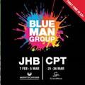 Blue Man Group to tour SA