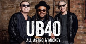 UB40's founding three in four-city SA tour