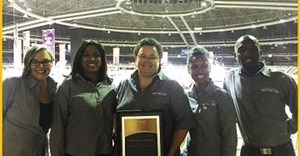 Ticketpro Dome scoops Top500 Award