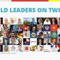 World leaders on Twitter