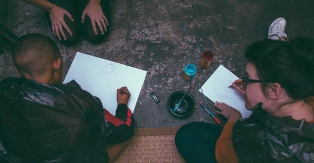 Teaching design thinking.