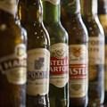 Anheuser-Busch InBev and SABMiller branded beers. Picture: