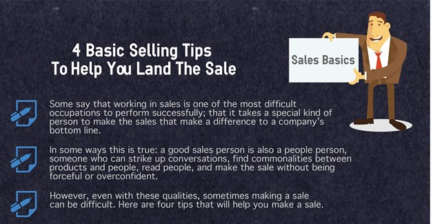 Four sales tips to help you