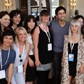 2015's See it Be it 2015 delegates with actor Adrian Grenier.