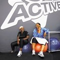 Customers take a break at Virgin Active's Soweto gym. Picture:
