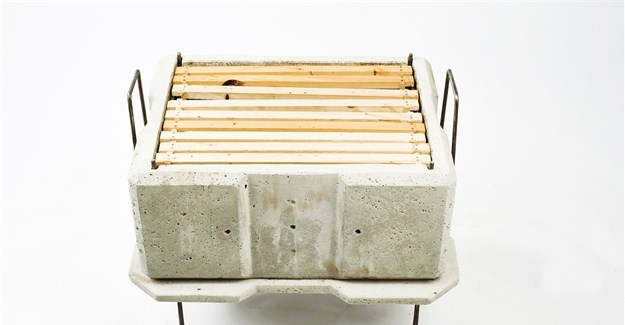 Concrete beehive provides possible solution for sustainable beekeeping