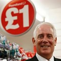 Outgoing Poundland CEO Jim McCarthy poses for a photograph in a store in London, the UK. Picture: