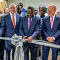 L-R: Farid Fezoua, president & CEO: GE Healthcare Africa; Jay Ireland, president & CEO: GE Africa; Dr Cleopa Mailu, cabinet secretary: ministry of health for Kenya and John Flannery, president & CEO of GE Healthcare.