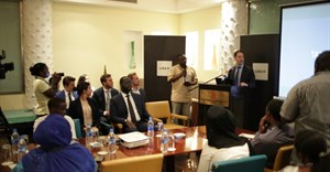 Alon Lits, general manager Uber Sub-Saharan Africa, speaking at the Dar es Salaam launch