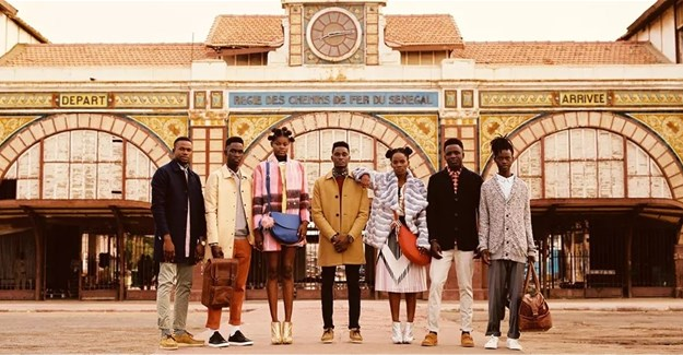 New Superbalist campaign shot in Senegal
