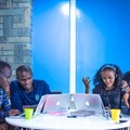 Group of Andela developers,Kenya. Photo Credit: Robert Opiyo