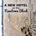 A new hotel on the Newtown block