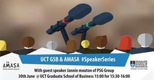 AMASA Cape Town and UCT Graduate School of Busniess partner to host #SpeakerSeries
