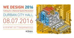 We Design 2016 Conference calling for a 'National Spatial Revolution'