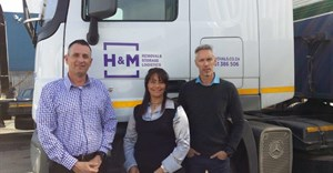 Anthony Healey (MD), Angela Julies (fleet controller), James Campbell-Miller (sales director)