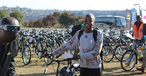 360 bicycles donated to Qhubeka in AutoTrader #DriveChange campaign
