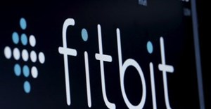 The ticker symbol for Fitbit is displayed on the floor of the NYSE, New York, the US.