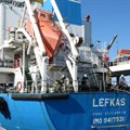 MT LEFKAS docked at Berth 100
