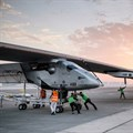 World touring solar plane's final leg to UAE delayed