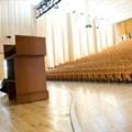 Fundraising drive to repair gutted university auditorium