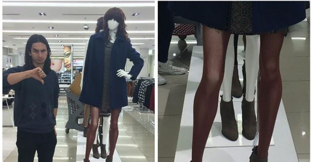 What's the skinny with Woolworths' mannequins?