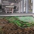 Illustration of pressure sensing bacteria in soils from the 'Computational Colloids Project'. Carolina Ramirez-Figuroa, Luis Hernan and Martyn Dade-Robertson,