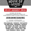 Gear up for the House of Vans Johannesburg