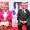 Margaret Kenyatta and Markus Gemuen