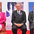 L-R: First Lady Margaret Kenyatta, Markus Gemuen and Andre Mendoza.