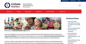 Establishment of Cochrane Nutrition Field in South Africa