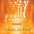 Voices on Fire at this year's Poetry in McGregor