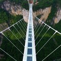 China opens record-breaking transparent bridge