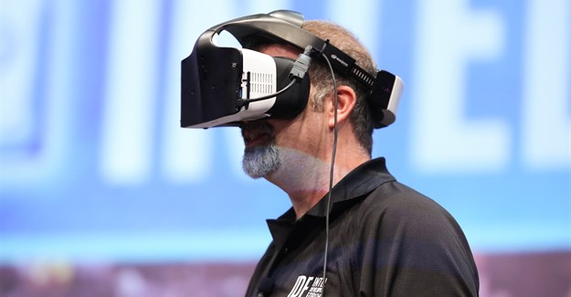 Project Alloy: Intel reveals its 'merged' reality headset