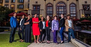 Nqobile Nkosi, Tumi Manong, Rebone Sesoke, Meisie Nkosi, Zinzi Masina, Candy Tothill, Lucille Cremen, Hayley Moore and Carol Senosi