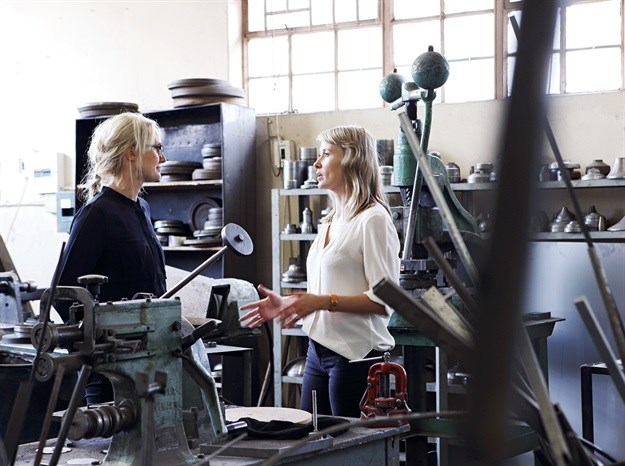 Andrea Kleinloog and Megan Hesse, co-founders of Anatomy Design.