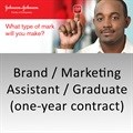 What type of mark will you make as Johnson & Johnson's brand/marketing assistant/graduate?
