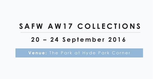 SA Fashion Week releases autumn/winter '17 season schedule