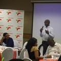 Siya Mhlaluka presenting at the TPT Procurement Imbizo