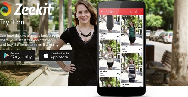 Zeekit launches app to virtually try on outfits before buying online or in-store