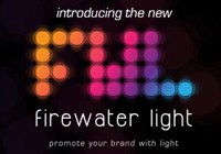 Celebrating 10 years of promotional lighting: Firewater Light unveils glowing new look