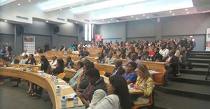 Delegates attending the BRICS Masterclass in the new addition to the Regent Business School Durban campus – a 180-seater lecture theatre in the Institute of Entrepreneurship