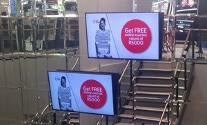 Moving Tactics lead digital signage installer at largest mall in Africa