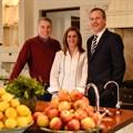 Kevin Hedderwick, Karen Short and Adrian Short.