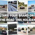 The festive season is an essential time to use outdoor advertising