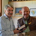 From left: Trevor Strydom (MD of Audacia Wines) and Ernest du Toit (Director of SARC and CEO of Annique)