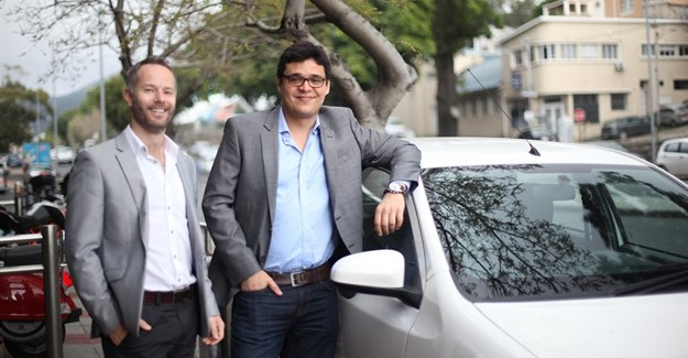 Michael Muller (MD) and Fernando Azevedo Pinheiro (CEO), the founders of CarZar.