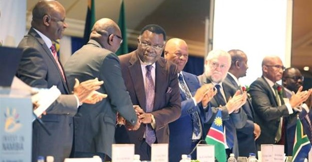 Hage G. Geingob, president, Republic of Namibia addressed South African business last week at the launch of the South African Launch of the Invest in Namibia International Conference taking place in Windhoek next month.
