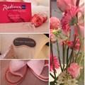 Radisson Blu turns pink