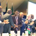 Dr Hage G. Geingob, President -Republic of Namibia, addressed South African business last week at the launch of the 'Invest in Namibia International Conference'